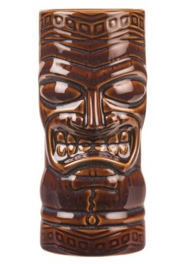 Brown Totem Mask Tiki