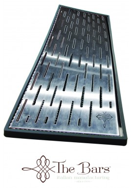 Armored Black Bar Mat 60 x 20