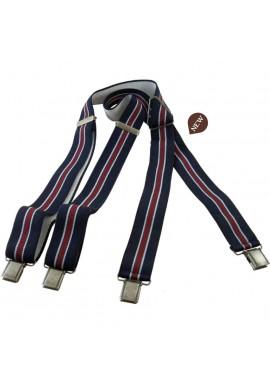 Blue Vintage Suspenders