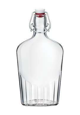Flask Bottle with cap  0,5 Lt