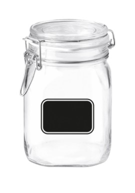 Hermetic Jar 1Lt with blackboard