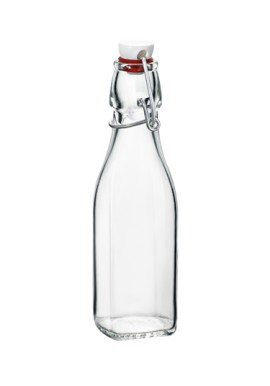 Bottle with cap  0,25 Lt