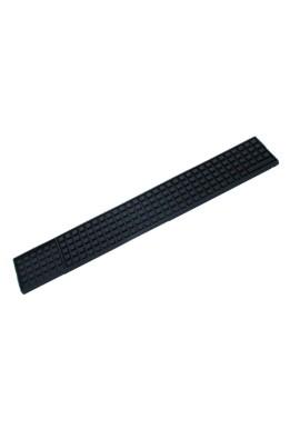 Black Soft Rubber Bar Mat 51 x 8