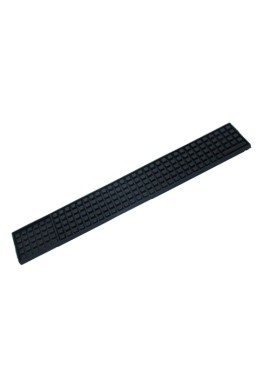 Black Soft Rubber Bar Mat 51 x 8